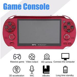 CONSOLE PSP Rouge Console PSP Écran de 4,3 pouces 300 jeux int