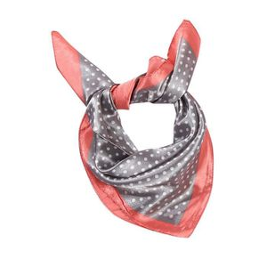 ECHARPE - FOULARD Elegant Women Head Neck Hair Tie Silk Satin Scarf