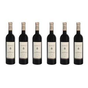 VIN ROUGE Lot de 6 Château Salettes Rouge - AOP Bandol - 201