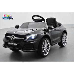 VOITURE ELECTRIQUE ENFANT Mercedes GLA45 Noir Métallisée, voiture électrique