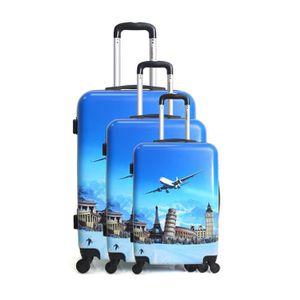 SET DE VALISES Set de 3 valises Polycarboate - Coques rigides - 4