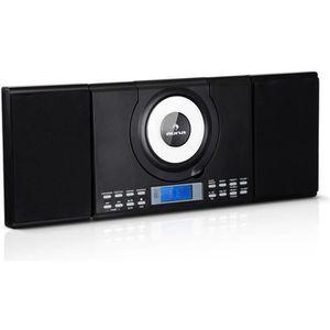 CHAINE HI-FI auna Wallie Micro chaîne HiFi Lecteur CD , interfa