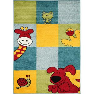 COUVERTURE - PLAID Tapis enfants Noa Let's Play! Multicouleur 120x170