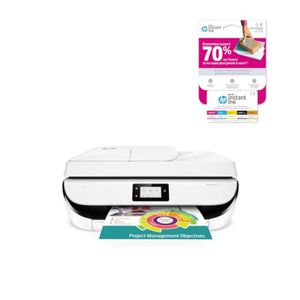 IMPRIMANTE Imprimante HP 4 en 1- WIFI - Officejet 5232 + Cart