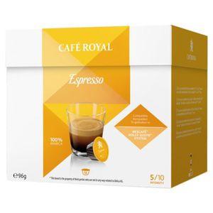 CAFÉ Café Royal Espresso Compatible Dolce Gusto (lot de