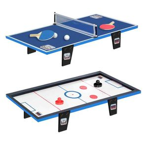 KIT TENNIS DE TABLE CDTS Table de ping-pong + Table de hockey - 81 x 4
