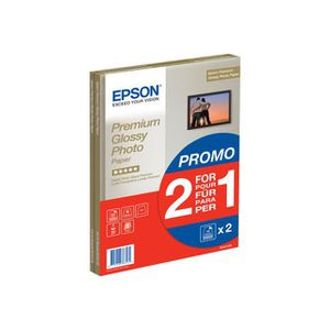 PAPIER PHOTO EPSON C13S042169 - PACK DE 2 - PAPIER PHOTO PRE…