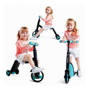 DRAISIENNE Enfants Scooter Tricycle bébé 3 en 1 Balance vélo