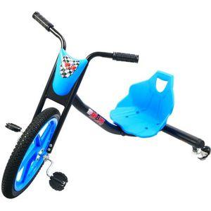 TRICYCLE BIBEE-DRIFT RIDER Tricycle 901757 - Noir et bleu