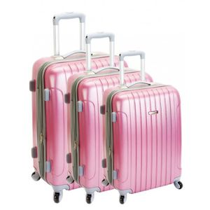 SET DE VALISES Set de 3 valises MADISSON Berlin rose