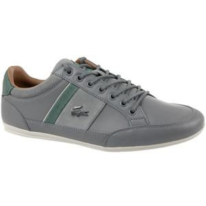 7bfb2e115be BASKET Lacoste Chaymon 417 CAM0070248 Homme Baskets Gris