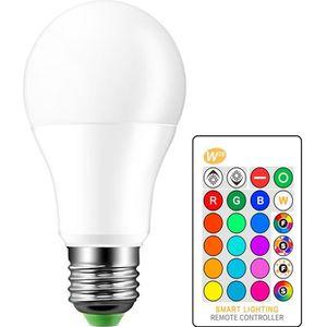 AMPOULE - LED Ampoule LED E27 10W RGBW Lampe Couleur Changement