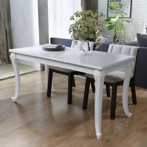 TABLE À MANGER SEULE Table de salle à manger de 4 à 6 personnes style c