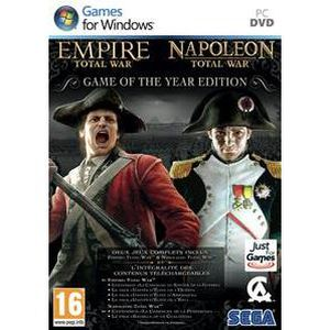 JEU PC Empire Total + Napoleon Total War Goty Jeu PC