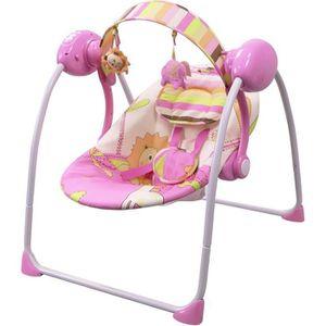 BALANCELLE Balancelle / transat bébé Electrique SPARKY Rose