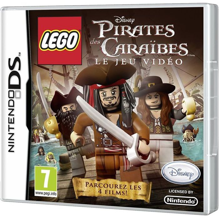 lego pirates des caraibes jeu console ds achat vente jeu ds dsi lego pirates des. Black Bedroom Furniture Sets. Home Design Ideas