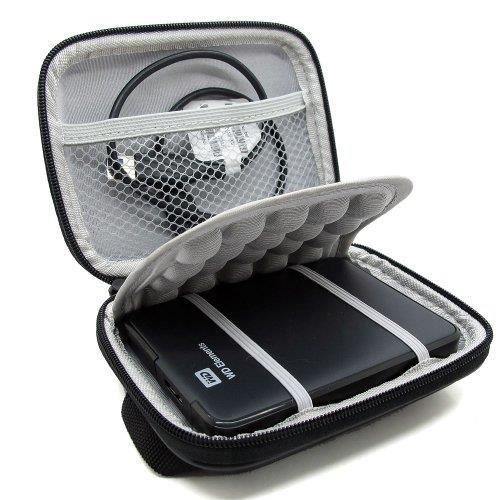 Markstore(TM) Antichoc dur Noir Housse de protection Housse et étui pour 2.5 -WD Western Digital Elements externe External Portable