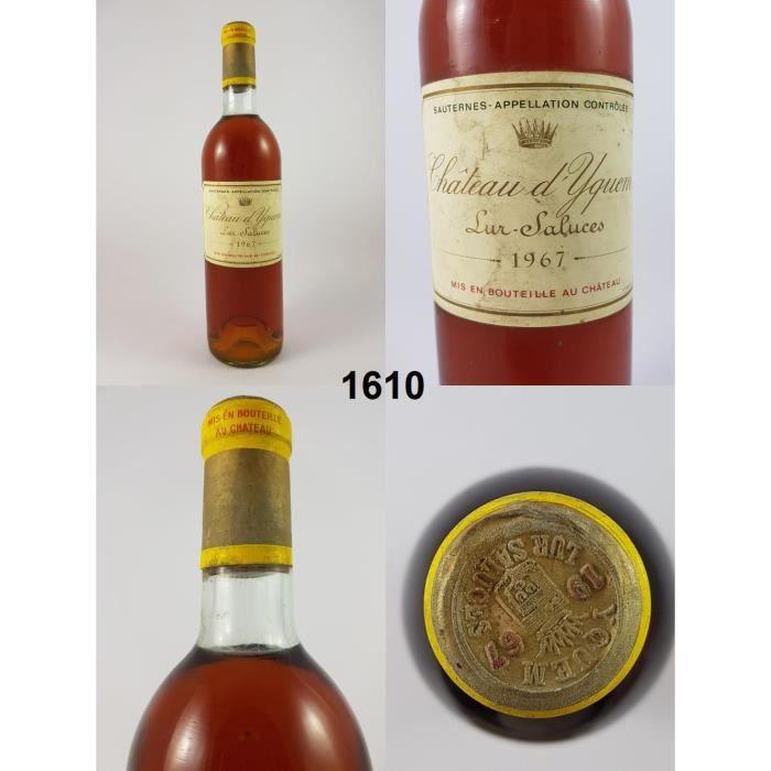 Château d'Yquem 1967 - N° : 1610, Sauternes, Blanc
