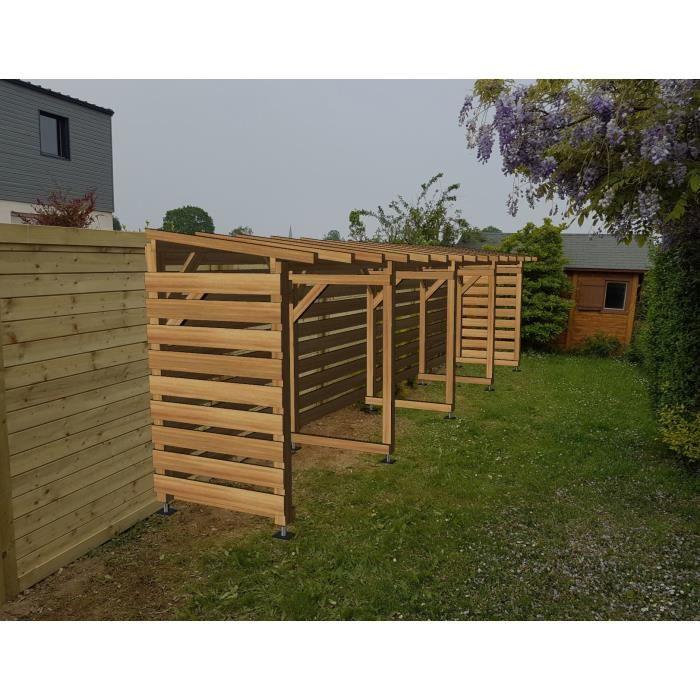Abri Jardin 8m - Non Couvert - Cl3 Marron - Jardinatoire