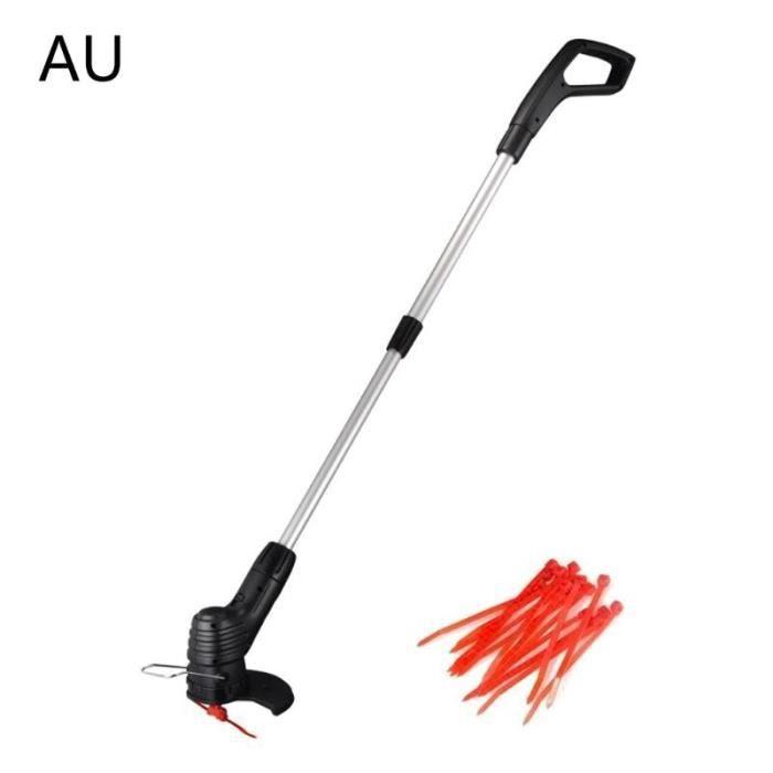 Coupe gazon électrique tondeuse à gazon à main sans fil désherbage coupe chaîne outil de jardin Portable avec 20 ceintur*YI4122
