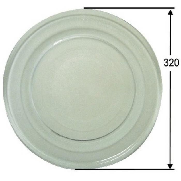 Plateaux Micro-ondes - Ø 320 mm. 27L