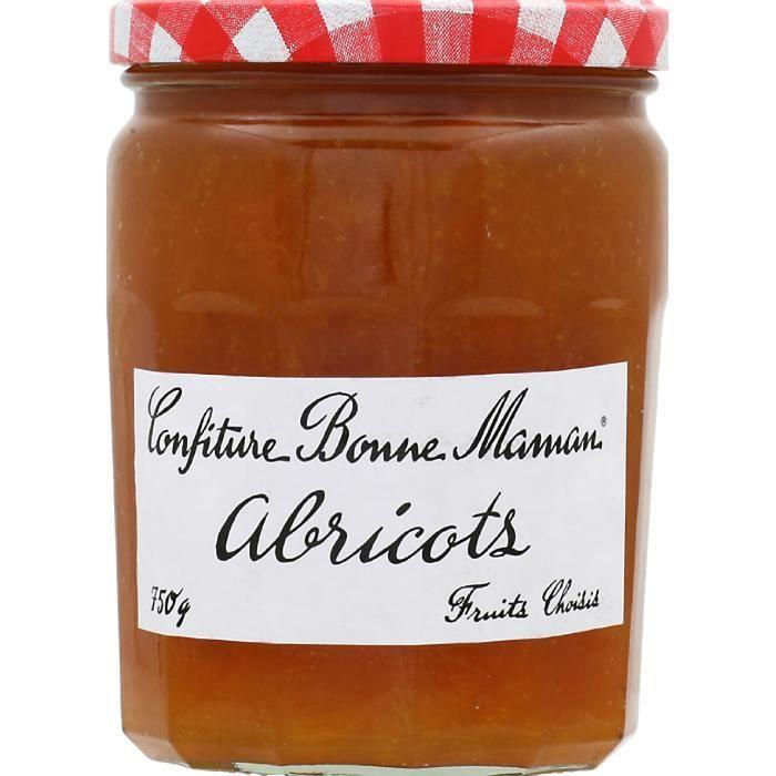 Confiture abricots 750g Bonne maman