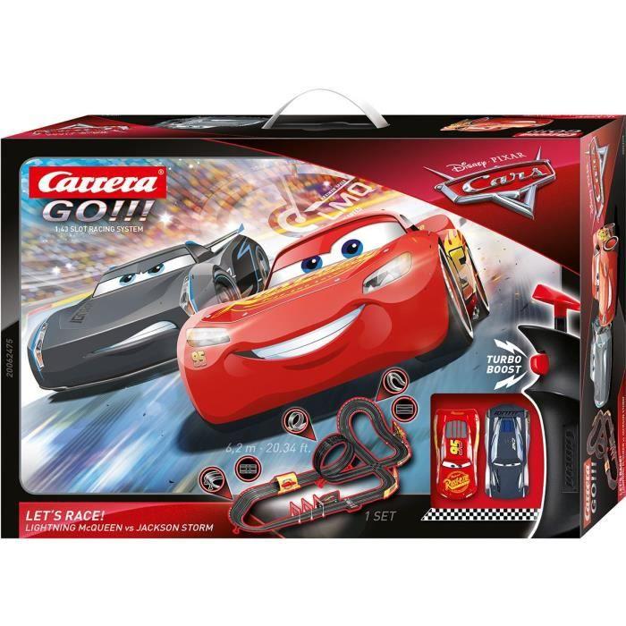 Carrera Go!!! Disney Cars 3 - Let's Race!