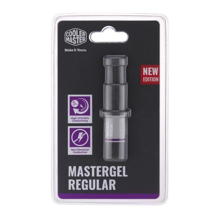 Cooler Master MasterGel Regular combiné de dissipateurs thermiques 5 W/m·K ( MasterGel Regular 2.5g Thermal Compound Syringe) - 471