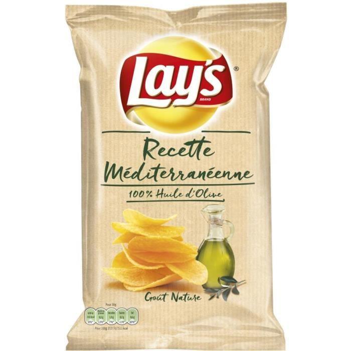 Chips huile d'olive le sachet de 130g LAYS