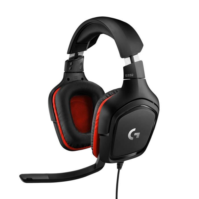 Logitech Casque Filaire Gaming G332 leatherette