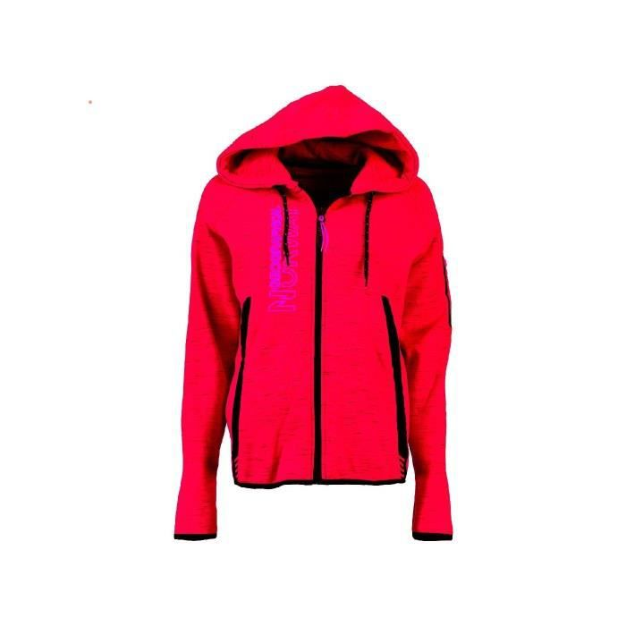 Sweat Femme Geographical Norway Getincelle Rouge
