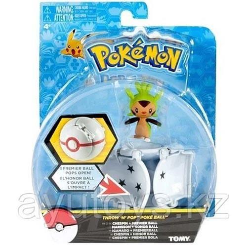 Chespin POKE Throw N POP Pokemon