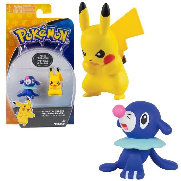 Sélection Battle Pack - Pokemon - Tomy - 2 pièces Set - Chiffres d'Action [Otaquin vs. Pikachu]