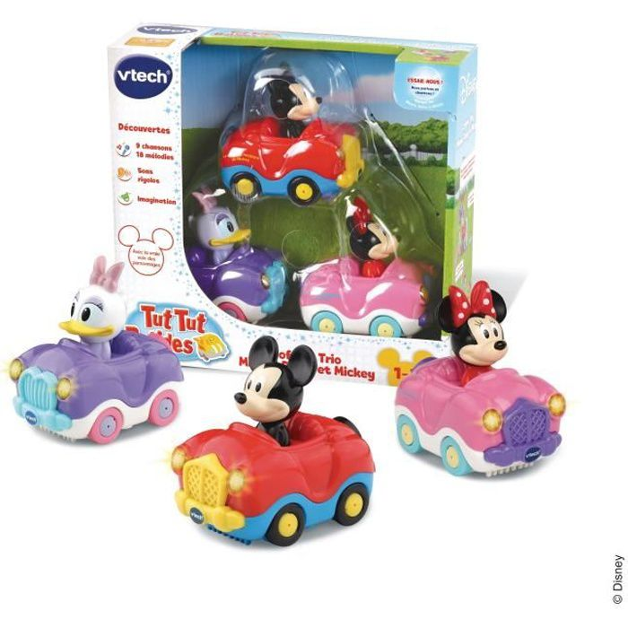 VTECH - 405075 - Coffret Trio Minnie/Mickey (Cabri Minnie + Cabrio Daisy + Cabrio Mickey)