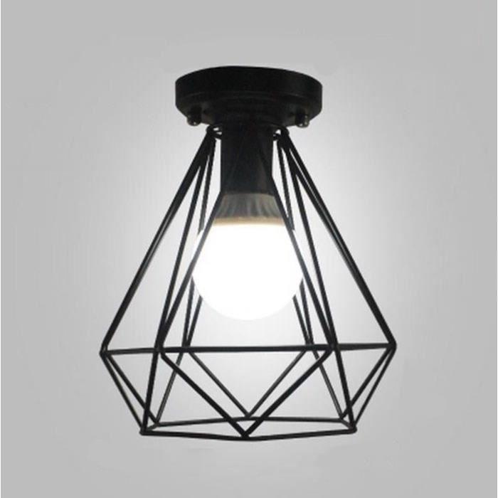 Lampe Plafonnier pour plafond de Lustre loft en fer pour Eclairage de Plafond cuisine salle /à manger Suspension Luminaire d/écoratif pendentif industriel vintage de la plan/ète terre
