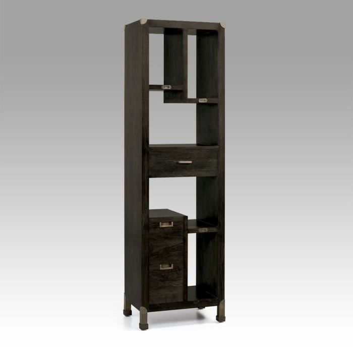 biblioth que cemara achat vente biblioth que. Black Bedroom Furniture Sets. Home Design Ideas