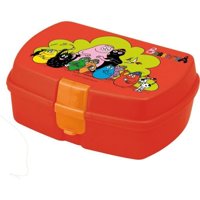 barbapapa boite a gouter achat vente lunch box bento barbapapa boite a gouter cdiscount. Black Bedroom Furniture Sets. Home Design Ideas