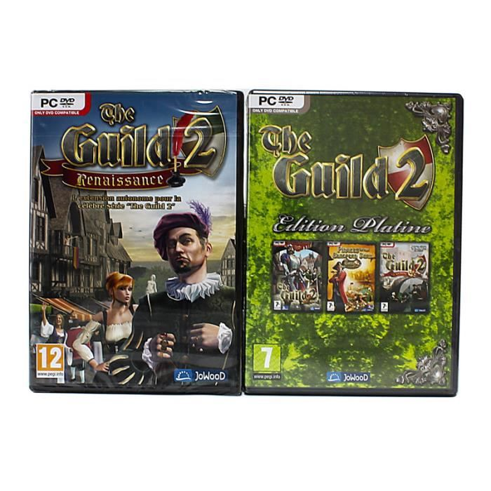 JEU PC Pack Guild 2 + 3 extensions - PC