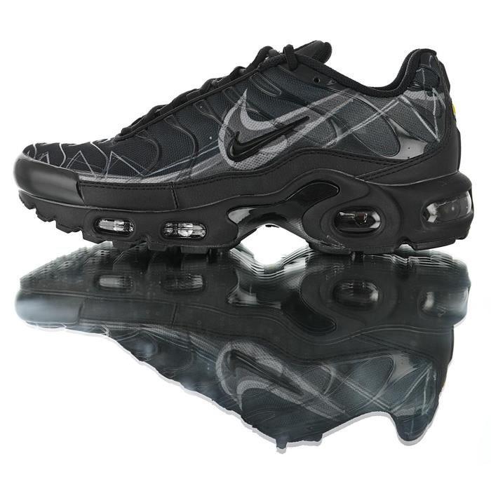 Nike Baskets Air Max TN Plus Chaussures de Course homme noir Noir ...