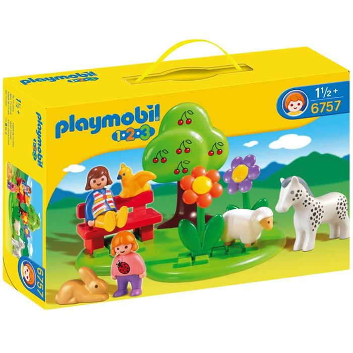 playmobil square des animaux achat vente univers. Black Bedroom Furniture Sets. Home Design Ideas