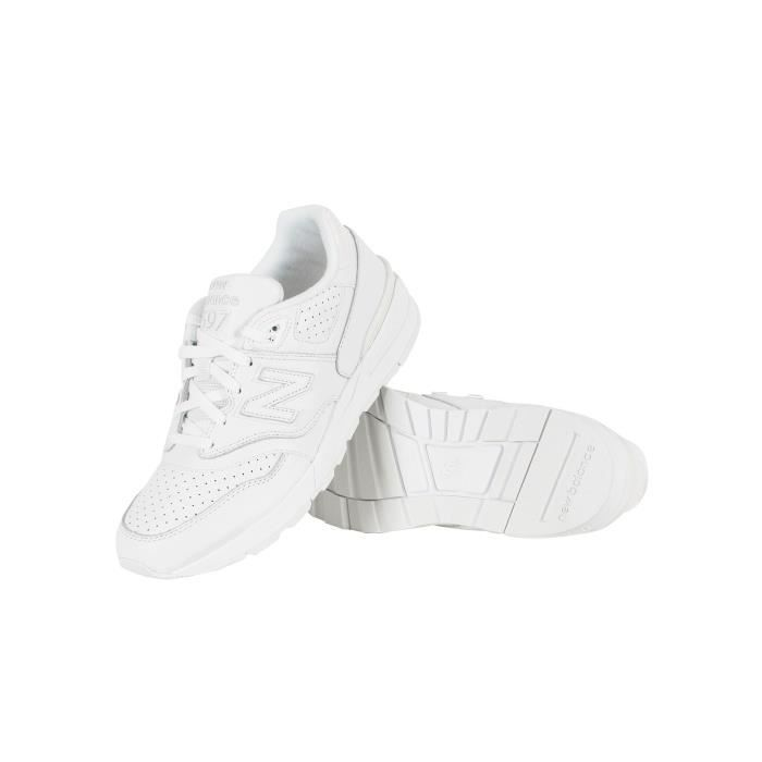 New Balance Homme 597 formateurs, Blanc