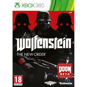JEUX XBOX 360 Wolfenstein The New Order Jeu XBOX 360