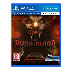 CASQUE RÉALITÉ VIRTUELLE Until Dawn Rush of Blood (Playstation VR) : Playst