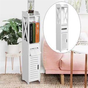 COLONNE - ARMOIRE SDB Armoire de rangement de toilette  meuble colonne d