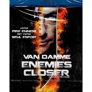 BLU-RAY FILM BLU-RAY VAN DAMME ENEMIES CLOSER