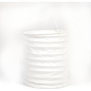 LANTERNE FANTAISIE Lampion cylindrique ignifugé blanc