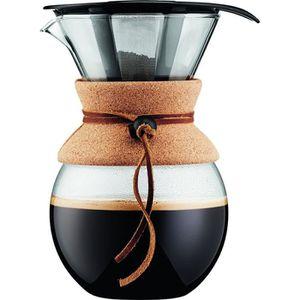 Bodum K11239-01 Yo-Yo Verre Tasse Avec Passoire À Thé 0.35 L//12 OZ Noir