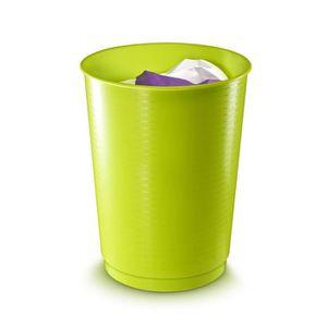 GLOSS Corbeille à papier géante Gloss  - 40 L - Vert ani