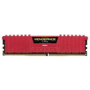 MÉMOIRE RAM Corsair Vengeance LPX, 8GB, DDR4, 8 Go, 2 x 4 Go,