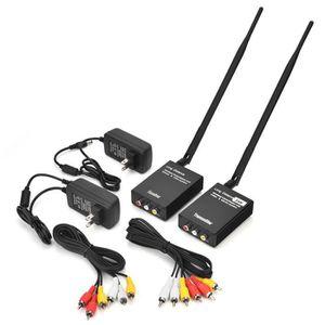 Récepteur audio Transmetteur et récepteur vidéo audio sans fil 2.4